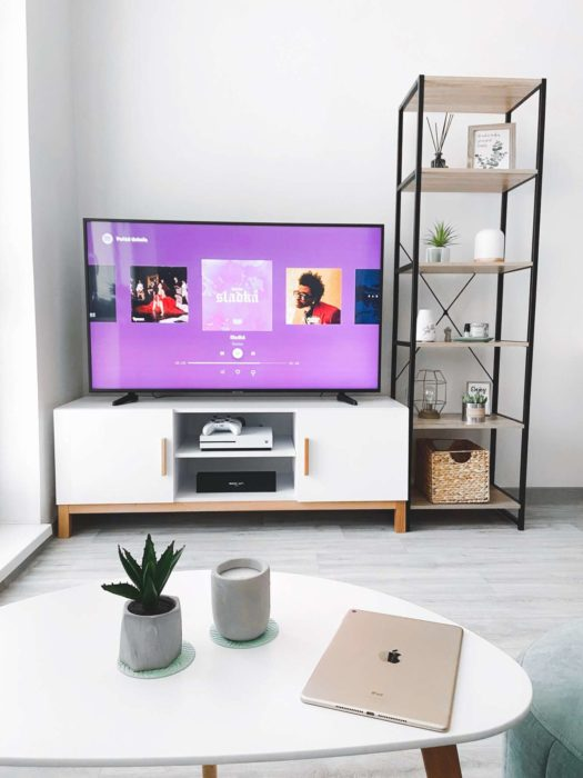 how to connect spotify to my TV